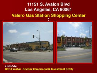 11151 S. Avalon Blvd Los Angeles, CA 90061 :