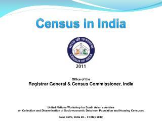 Office of the Registrar General & Census Commissioner, India