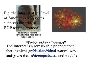 �Erdos and the Internet�