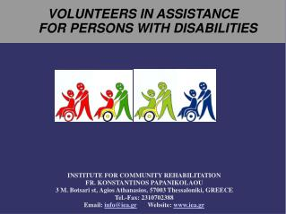 VOLUNTEERS IN ASSISTANCE FOR PERSONS WITH DISABILITIES