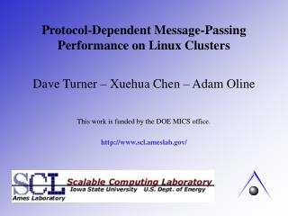 Protocol-Dependent Message-Passing Performance on Linux Clusters