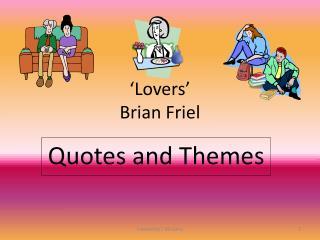 'Lovers' Brian Friel