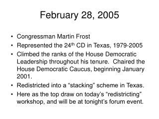 February 28, 2005