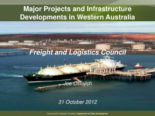 Major Projects and Infrastructure Developments in Western Australia