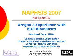 NAPHSIS 2007 Salt Lake City