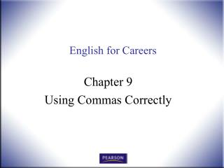 English for Careers