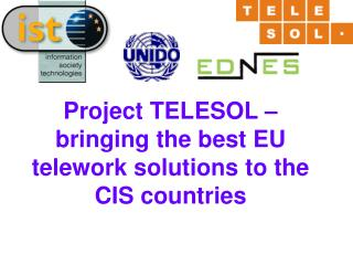Project TELESOL – bringing the best EU telework solutions to the CIS countries