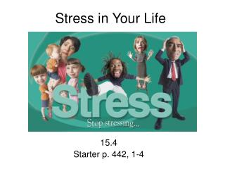 Stress in Your Life
