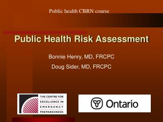 Public Health Risk Assessment