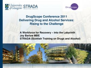 DrugScope Conference 2011 Delivering Drug and Alcohol Services: Rising to the Challenge