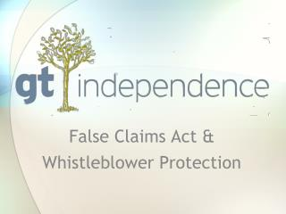 False Claims Act & Whistleblower Protection