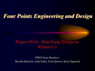 Four Points Engineering and Design