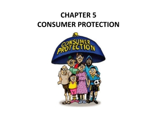 Chapter 5 - Protection from Adulterants