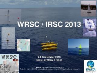 2-6  September  2013 Brest, Brittany, France