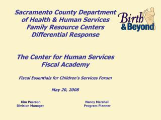 "Family Resource Centers Differential Response  ""The Way We Were"""