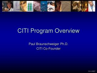 CITI Program Overview