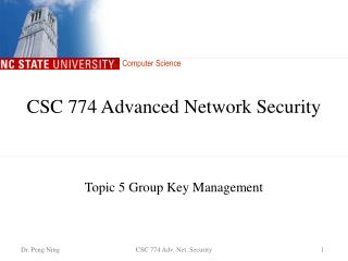 CSC 774 Advanced Network Security