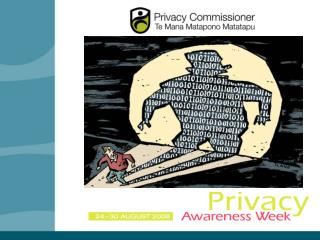 """Katrine Evans:  Current issues  Key themes in enquiries and complaints  """"Privacy at work"""" Neil Sanson: • Risk  Data bre"""