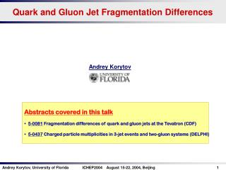 Quark and Gluon Jet Fragmentation Differences