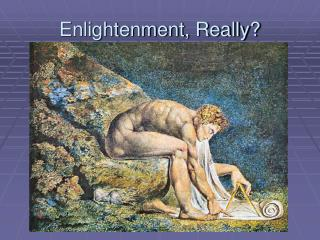 Enlightenment, Really?