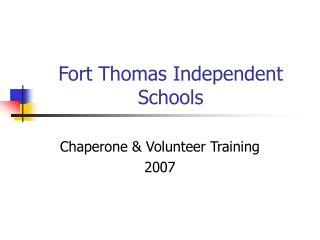 Fort Thomas Independent Schools