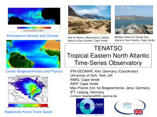 TENATSO Tropical Eastern North Atlantic Time-Series Observatory