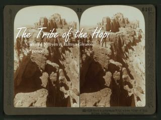 The Tribe of the Hopi
