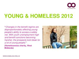YOUNG & HOMELESS 2012