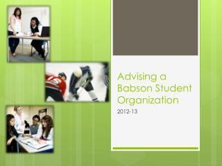Advising a Babson Student Organization