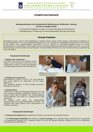 ATEMPHYSIOTHERAPIE