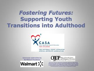 Fostering Futures: Supporting Youth Transitions into Adulthood