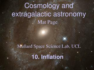Cosmology and extragalactic astronomy
