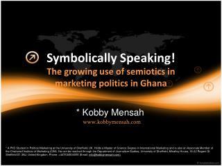Symbolically Speaking!