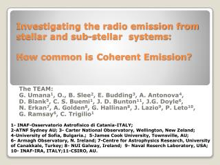 Investigating the radio emission from stellar and sub-stellar  systems:  How common is Coherent Emission?