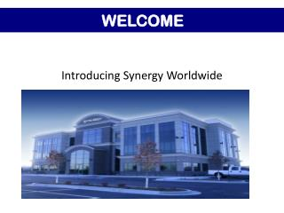 Introducing Synergy Worldwide