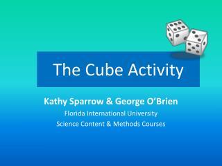 The Cube Activity