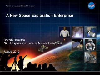 A New Space Exploration Enterprise