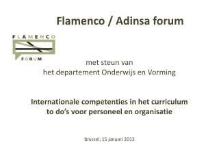 Flamenco /  Adinsa  forum