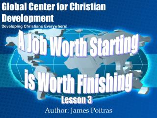 Author: James Poitras