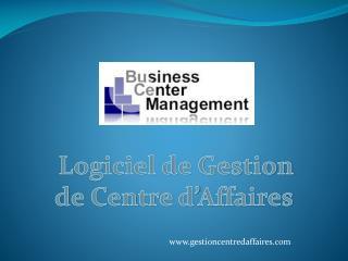 Logiciel de Gestion de Centre d'Affaires