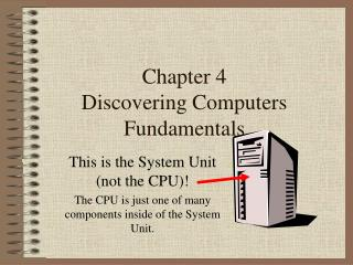 Chapter 4 Discovering Computers Fundamentals