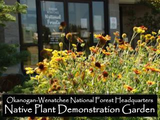 Okanogan-Wenatchee National Forest Headquarters Native Plant Demonstration Garden