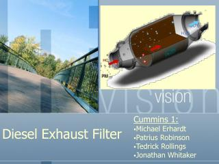 Diesel Exhaust Filter