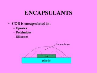 ENCAPSULANTS