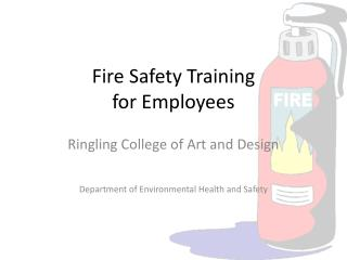Fire Safety Training for Employees