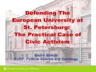 European University at St. Petersburg