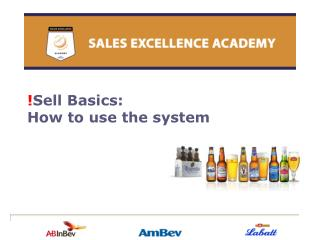 ! Sell Basics:  How to use the system