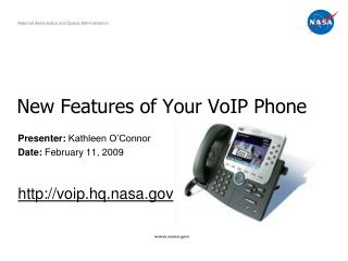 New Features of Your VoIP Phone