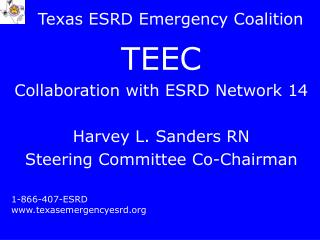 Texas ESRD Emergency Coalition