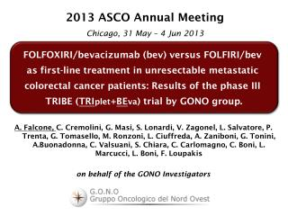 FOLFOXIRI/ bevacizumab ( bev ) versus FOLFIRI/ bev as first-line treatment in  unresectable metastatic
